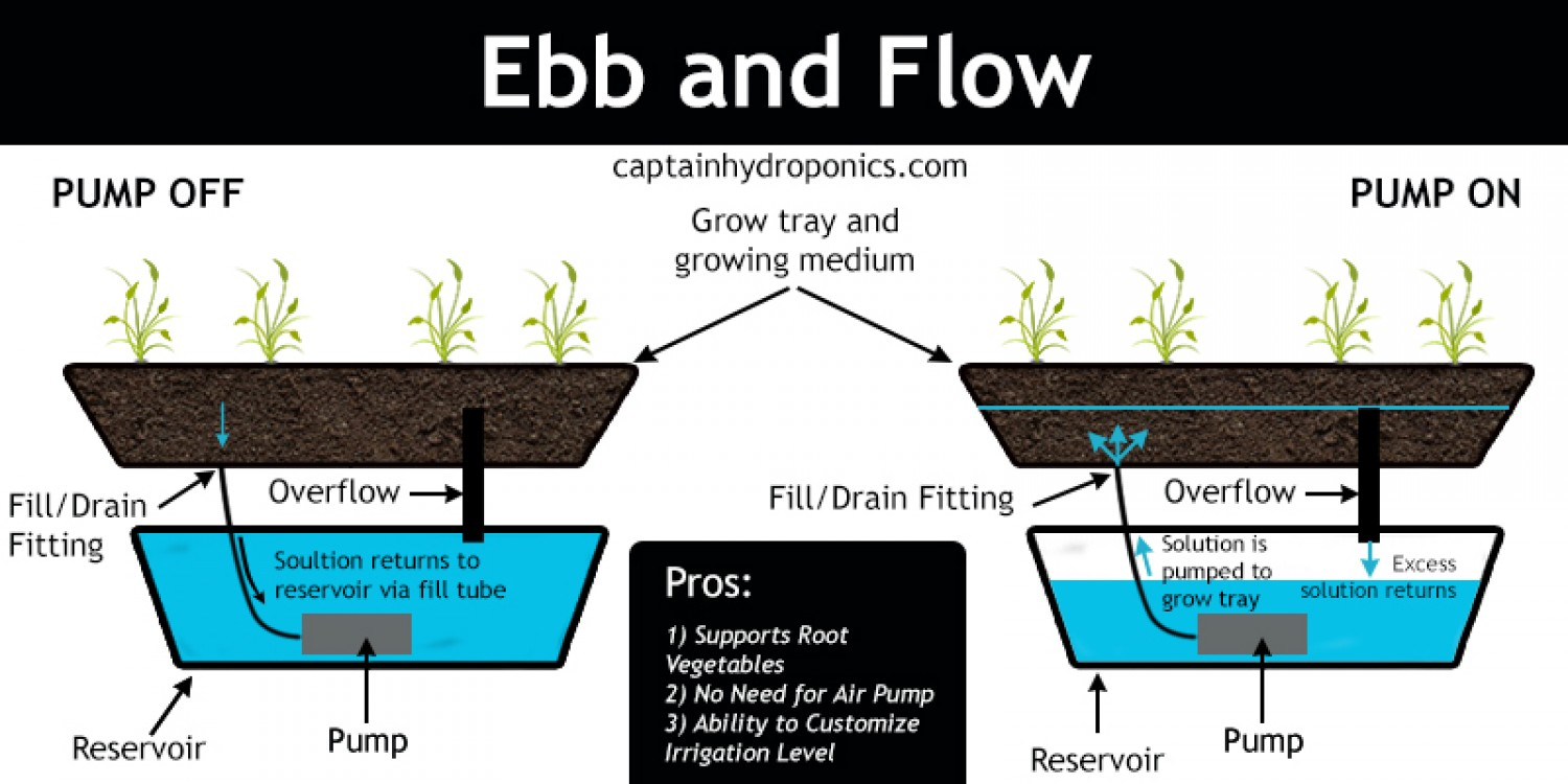 how to build ebb and flow system