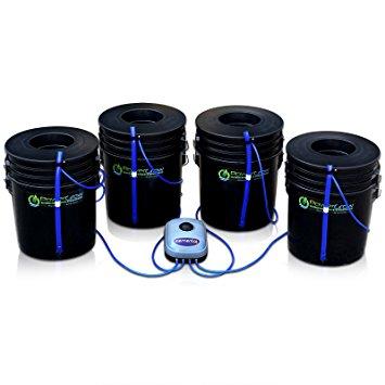 Deep Water Culture Hydroponic Bubbler 8 Bucket Kit