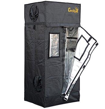 Gorilla Grow Tent LTGGT22 Tent, 2' x 2.5' x 5'7