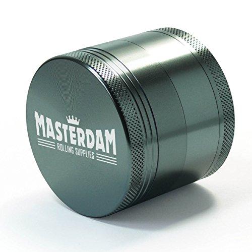 Masterdam-Grinders 4-Piece-Anodized-Aluminum-Herb-Grinder
