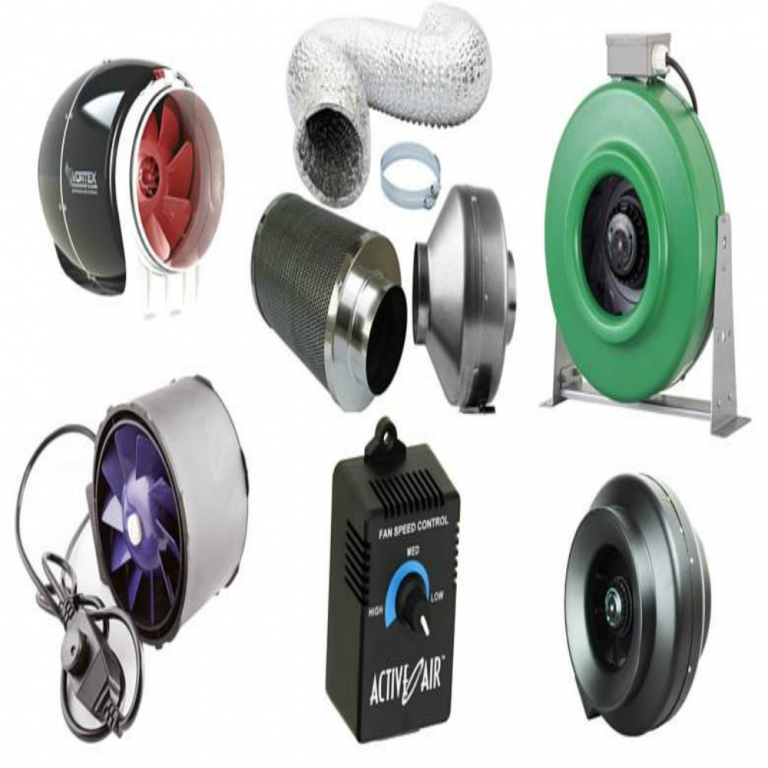 Best Inline Fans For Cannabis GrowRooms : Grow Room Ventilation