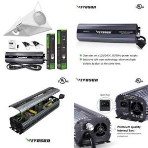 Vivosun-Hydroponic-1000W-HPS-grow-light-kit