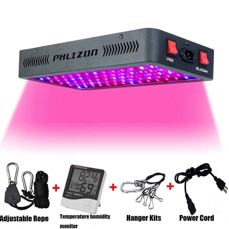 Phlizon Newest 900W LED Plant Grow Light