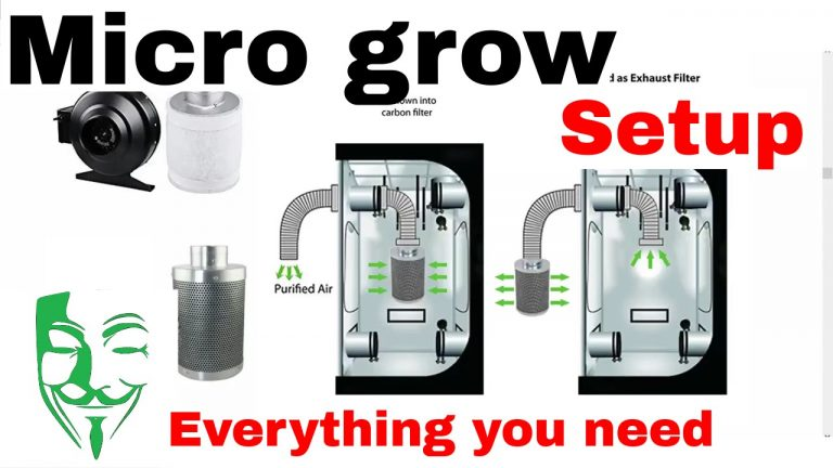 Best Micro Grow SetUp | Micro Grow Box [2019 Version]