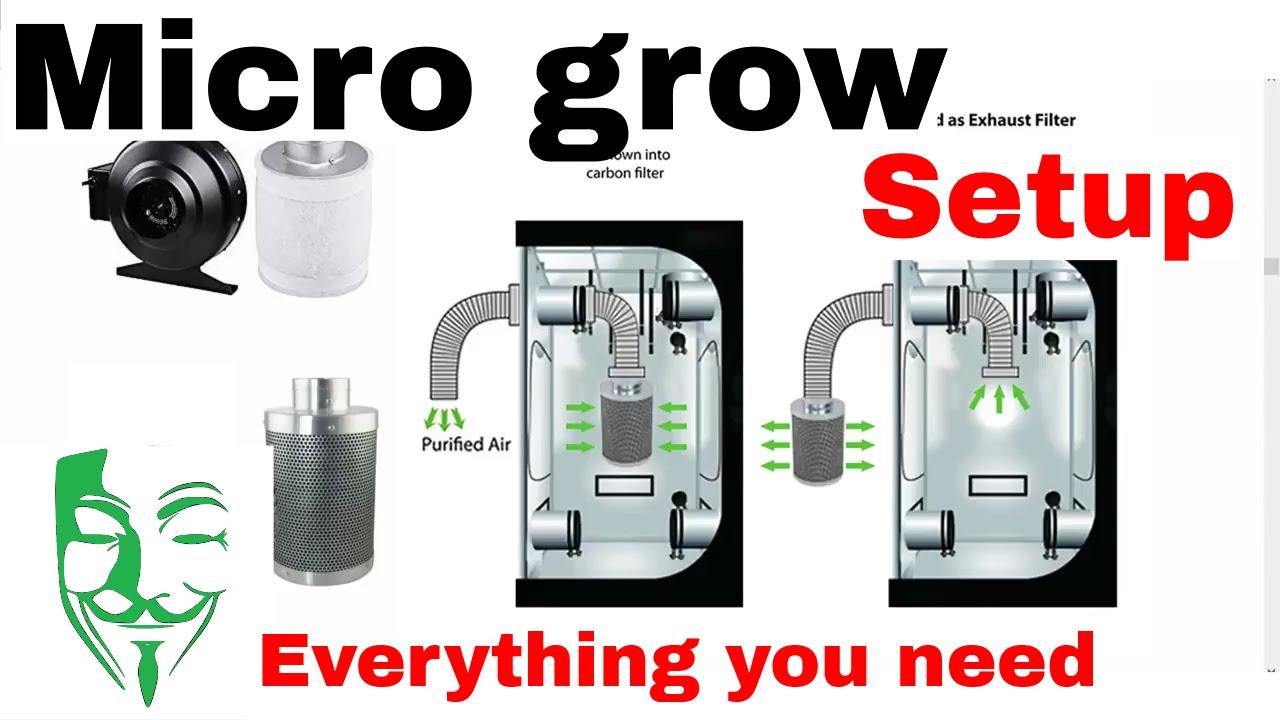 Micro Grow Set Up