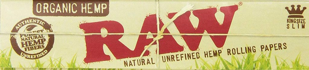 Raw King Size Slim Organic Hemp Rolling Papers
