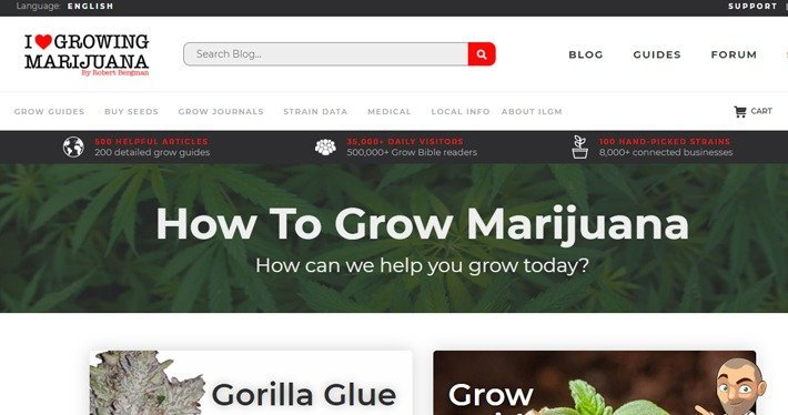 I Love Growing Marijuana affiliate program