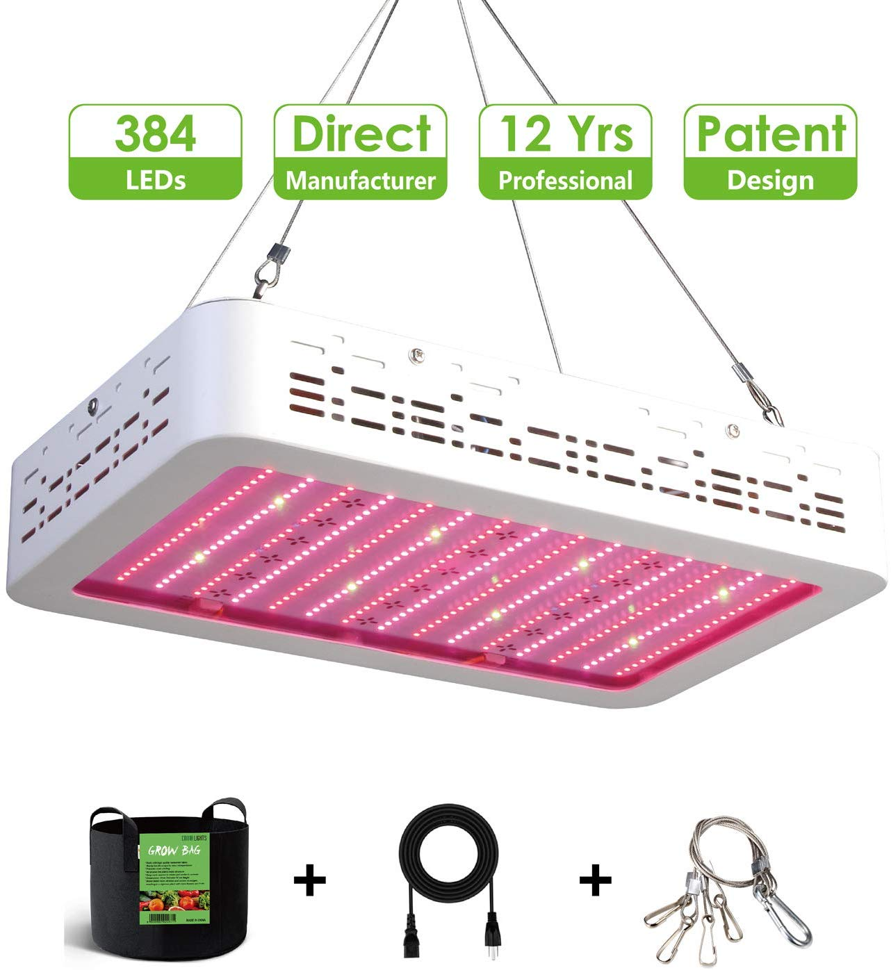 XECCON 2000W LED Grow Light